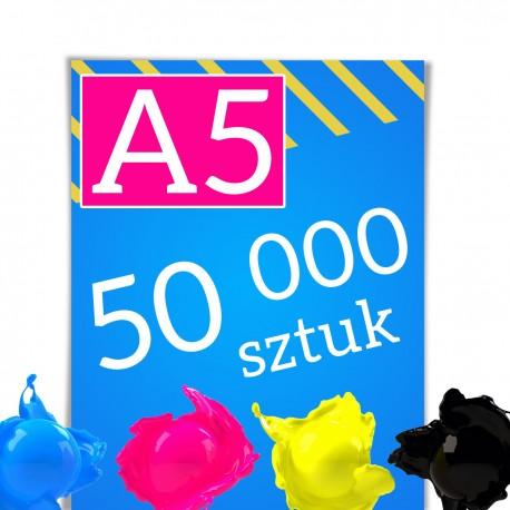 Ulotki A5 50 000