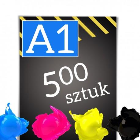 Plakaty A1 500