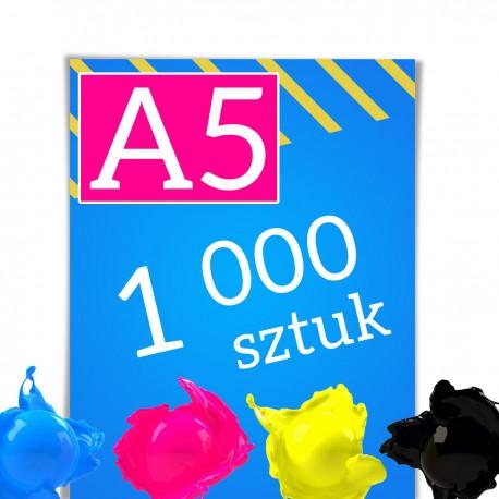Ulotki A5 1 000