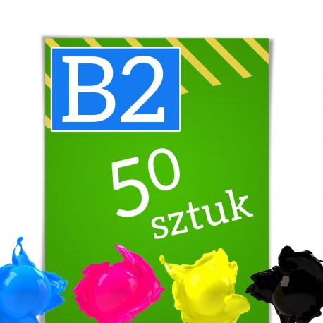 Plakaty B2 50