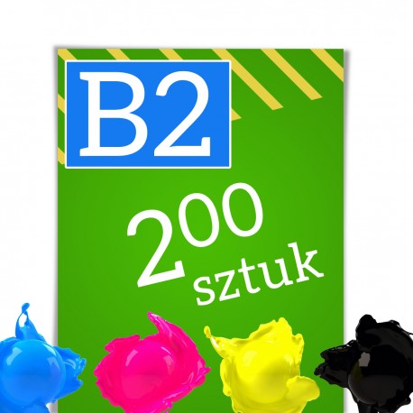 Plakaty B2 200