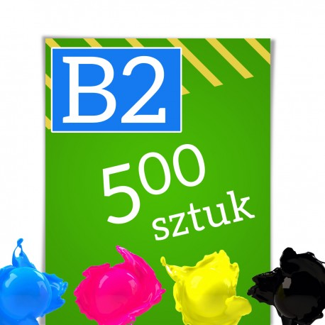 Plakaty B2 500