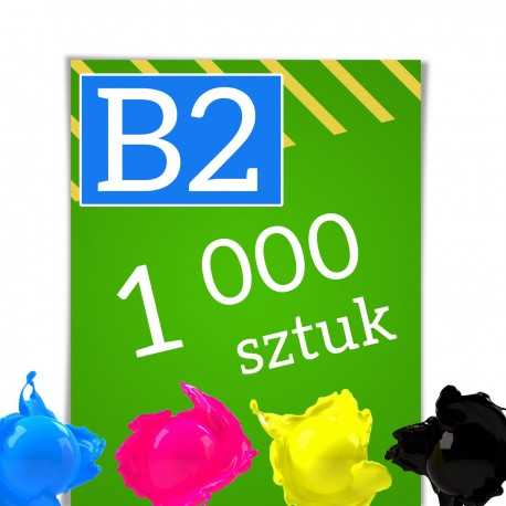 Plakaty B2 1 000