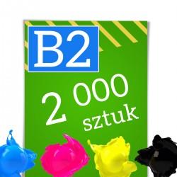 Plakaty B2 2 000
