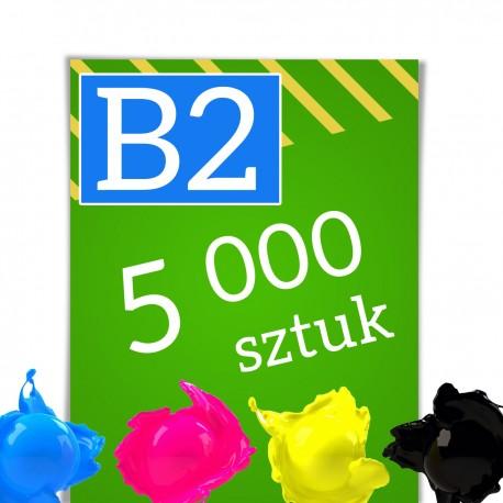 Plakaty B2 5 000