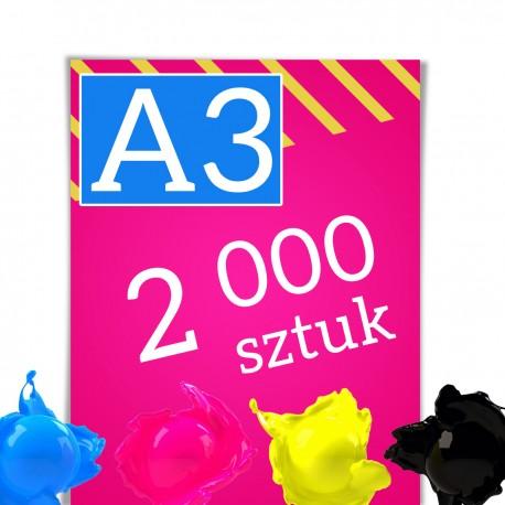 Plakaty A3 2 000
