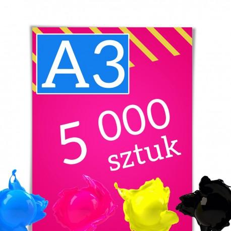 Plakaty A3 5 000