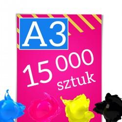 Plakaty A3 15 000