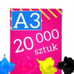 Plakaty A3 20 000