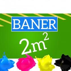 Baner reklamowy 2m2