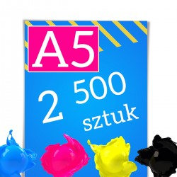 Ulotki A5 2 500