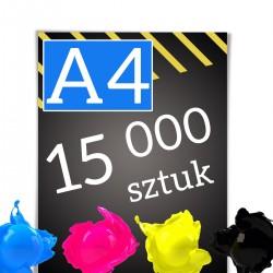 Ulotki A4 15 000
