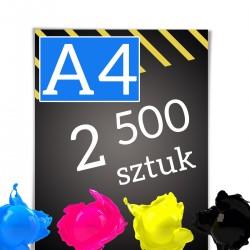 Ulotki A4 2 500