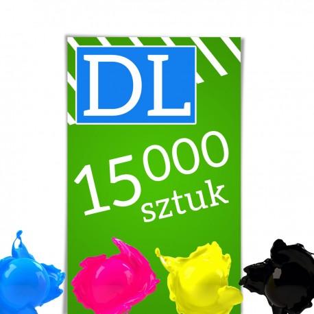 Ulotki DL 15 000