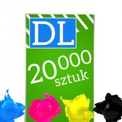 Ulotki DL 20 000